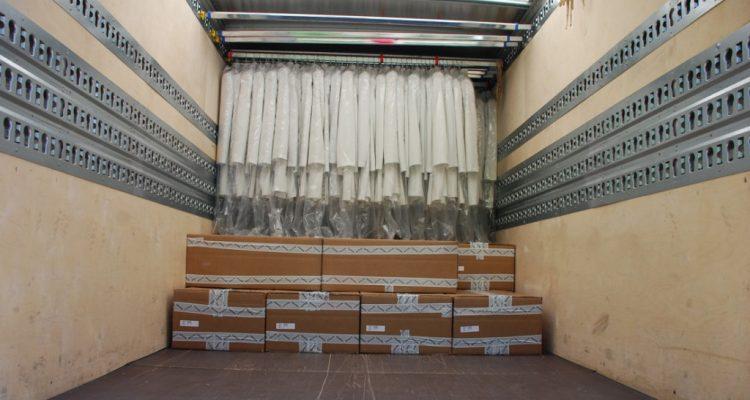 Askılı Tekstil Eşya Nakliyesi